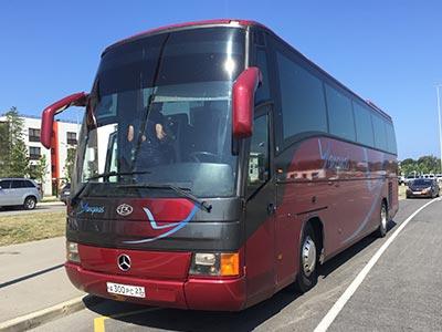 Заказ автобуса в Сочи