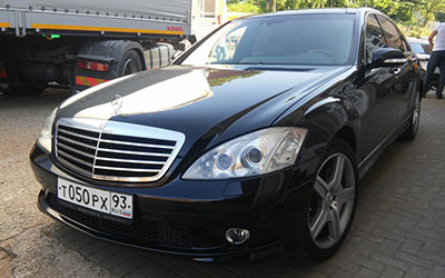Такси бизнес класса в Сочи