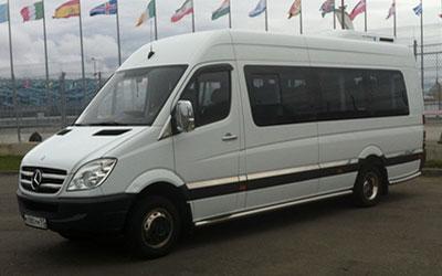 Аренда микроавтобусов в Сочи