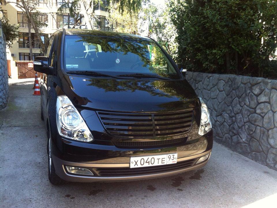 Аренда Hyundai Starex с водителем в Сочи