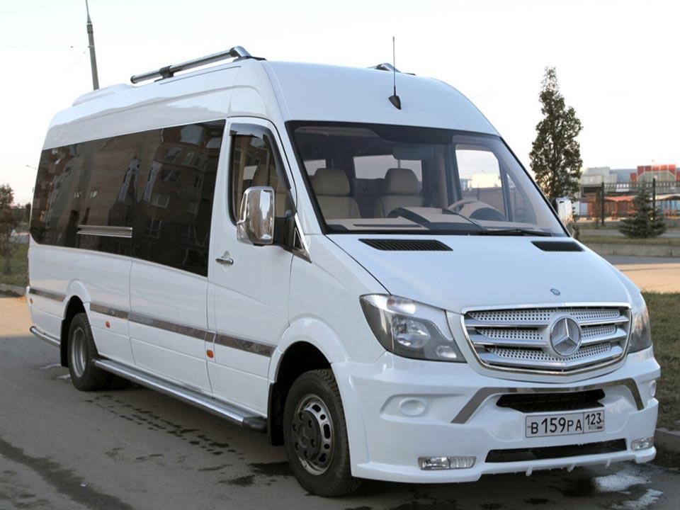 Аренда Mercedes Sprinter VIP с водителем в Сочи