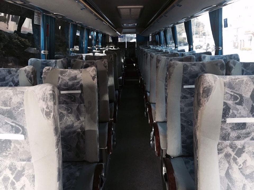 Аренда автобуса Golden Dragon с водителем в Сочи