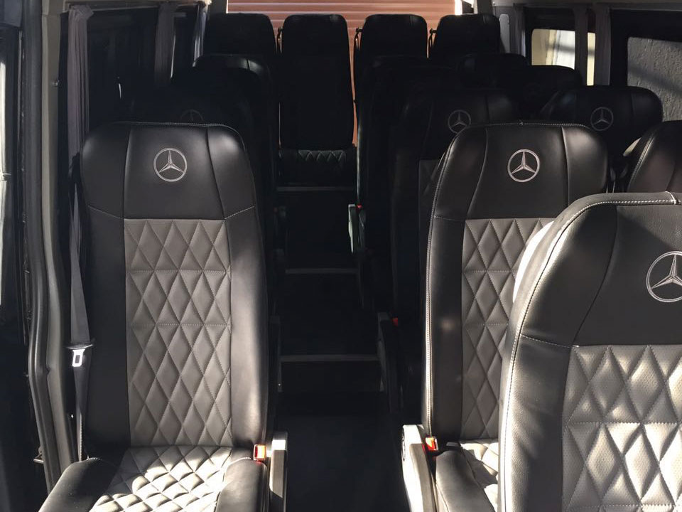 Аренда Mercedes Sprinter Luxe с водителем в Сочи