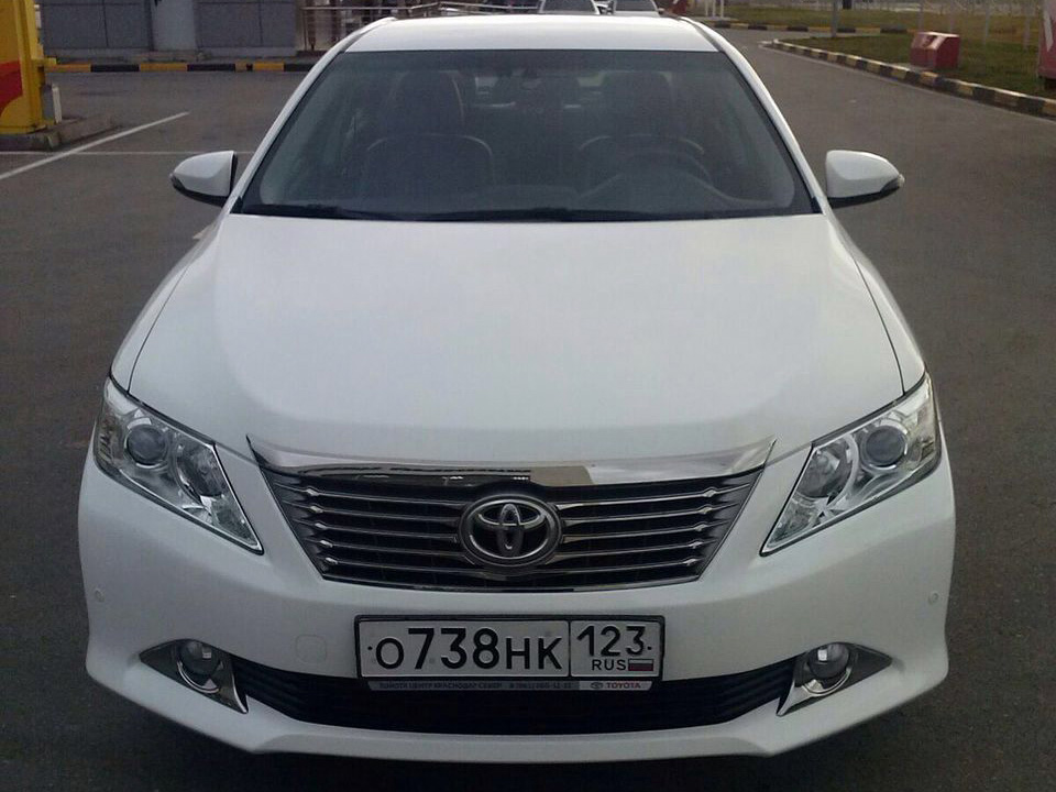 Аренда Toyota Camry с водителем в Сочи