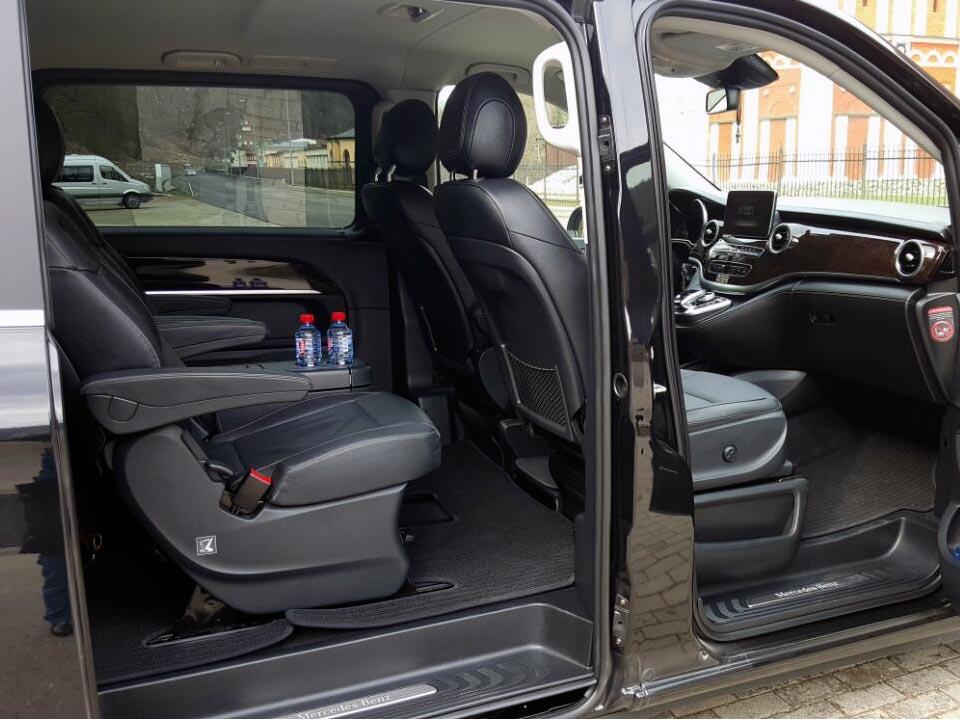 Аренда Mercedes V class с водителем в Сочи