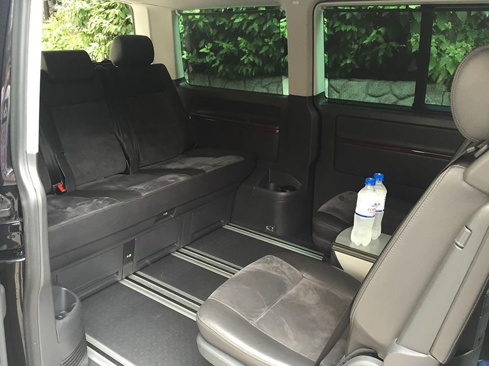 Аренда Volkswagen Multivan с водителем в Сочи