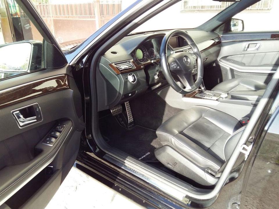 Аренда Mercedes E class, W212 с водителем в Сочи