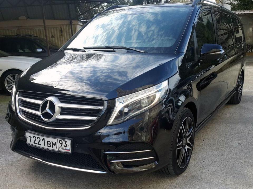 Аренда Mercedes V class в Сочи