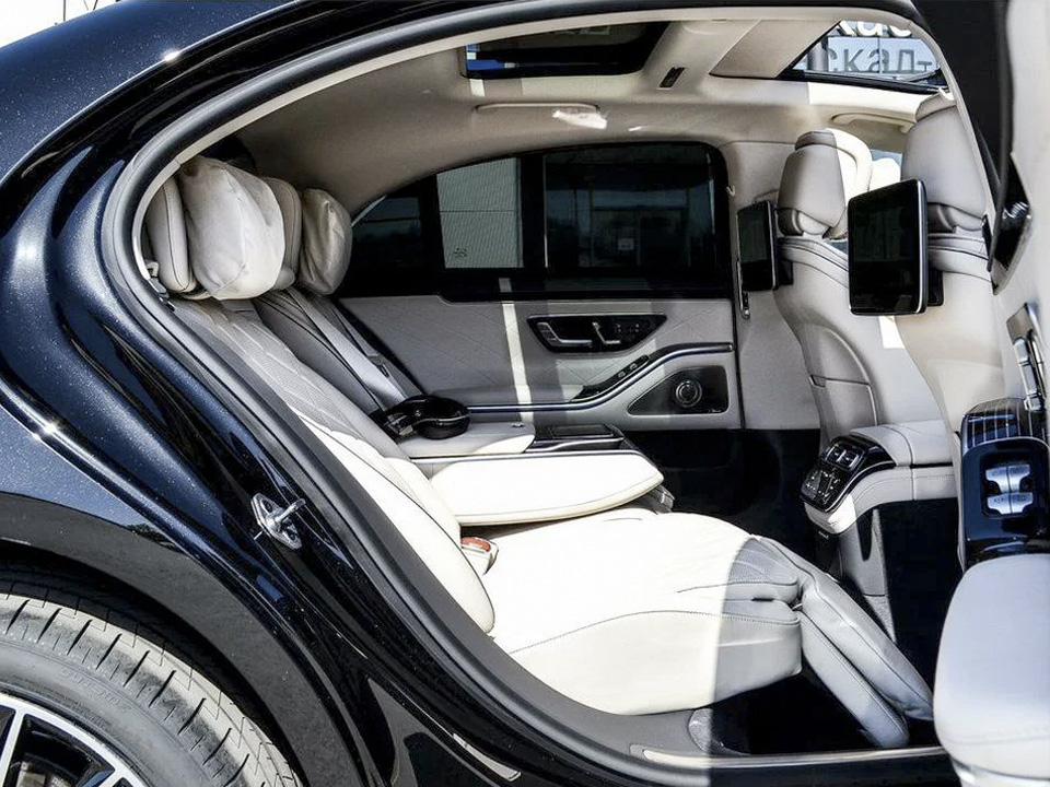 Аренда Mercedes S 223 с водителем в сочи